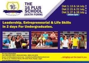 Leadership, Entrepreneurial & Life Skills For Undergraduate