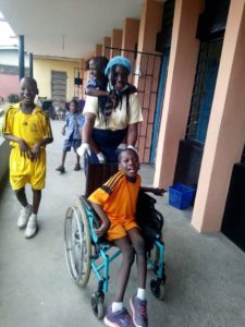 The 16 Plus School Visit @Atunda Olu School For The Challenged Children 1